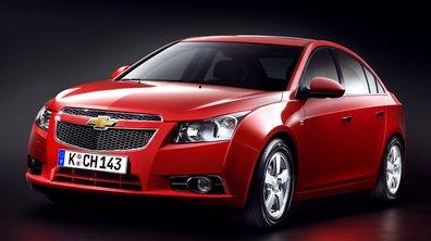 Chevrolet Cruze : une berline à moins de 15.000 euros !