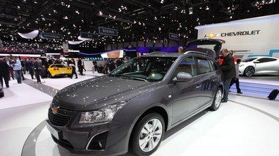 Salon de Genève 2012 : Chevrolet Cruze SW et restylage de passage
