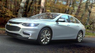 Chevrolet Malibu 2015 : présentation officielle