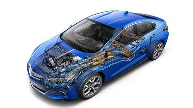 """La Chevrolet Volt élue """"Green Car of the Year"""" 2015"""