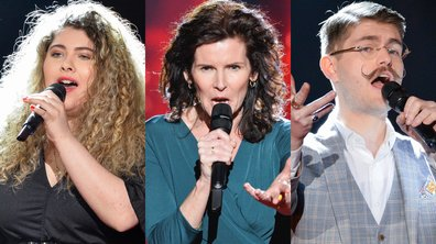 "THE VOICE 2020 - Cheyenne VS Maria VS Amaury chantent ""You raise me up"" de Secret Garden (BATTLES)"
