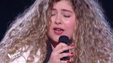 """The Voice 2020 - KO LARA FABIAN : Cheyenne chante """"Dans un autre monde"""" de Céline Dion"""