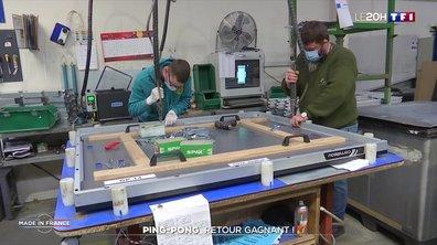 Chez le dernier fabricant de ping-pong en France