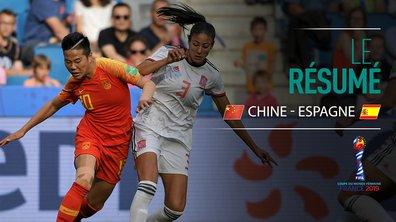 Chine - Espagne : Voir le résumé du match en vidéo