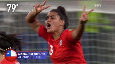 Thaïlande - Chili (0 - 2) : Voir le but d'Urrutia en vidéo