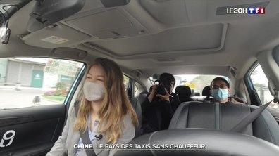 Chine, le pays des taxis autonomes
