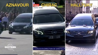 "Chirac, Aznavour, Johnnu : y a-t-il un corbillard ""spécial star"" à Paris ?"