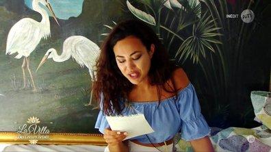 CHOC – Yamina découvre la lettre de départ de Quentin