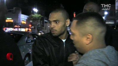 Chris Brown trop gros pour rentrer dans le petit Q