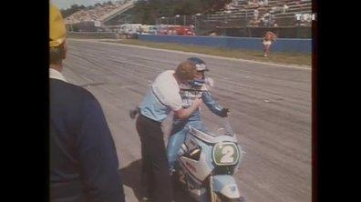 Christian Sarron champion moto 250 cm3 (Auto Moto 18 Août 1984)