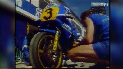 GP Moto : Dans les stands avec Christian Sarron – Automoto 24 mai 1986