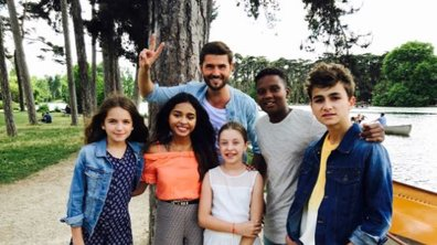Christophe Beaugrand heureux face aux Kids United