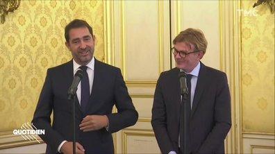 Christophe Castaner part à l'Intérieur (et il s'est bien foutu de son successeur)