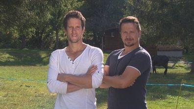 Christophe et Damien, les candidats du mardi