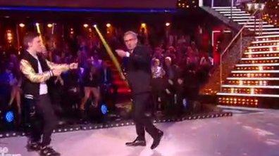 Du jamais vu Christophe Dechavanne danse le moonwalk avec Lenni-Kim