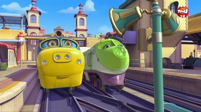 Chuggington - Extrait : Bruno à la station de lavage