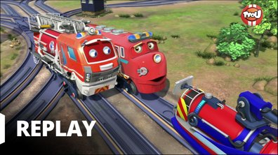 Chuggington - Adam, la loco-pompier
