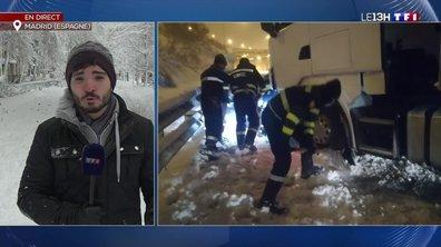 Chutes de neige à Madrid : à quoi faut-il s'attendre ?