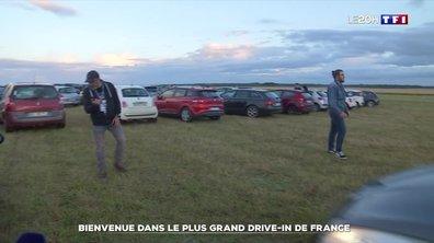 Cinéma : le plus grand drive-in de France sur l'aérodrome de Blois-Le Breuil