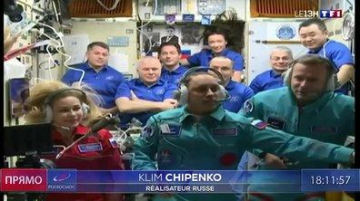 Cinéma : les Russes de retour sur Terre après le tournage du premier film dans l'espace