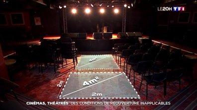 Cinémas, théâtres : des conditions de réouverture inapplicables