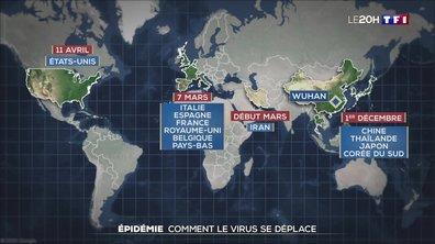 Cinq millions de personnes contaminées dans le monde, comment le virus se déplace-t-il ?