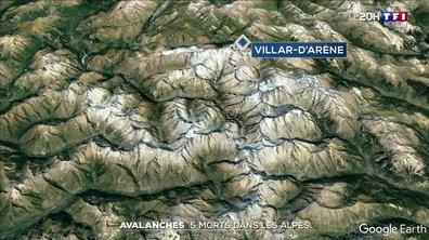 Cinq personnes meurent dans des avalanches dans les Hautes-Alpes et en Isère