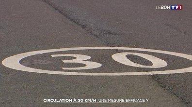 Circulation à 30km/h : la mesure est-elle efficace ?