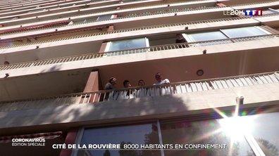 Cité de la Rouvière à Marseille : 8 000 habitants en confinement