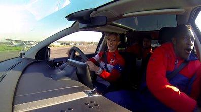 Insolite : Les joueurs d'Arsenal s'amusent en Citroën C4 Cactus !