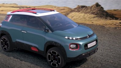 Citroën C-Aircross Concept 2017 : Présentation officielle
