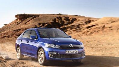La Citroën C-Élysée s'offre un restylage