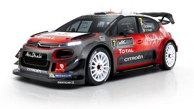 Citroën C3 WRC 2017 : les infos et photos officielles