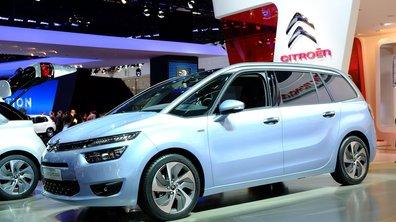 Salon de Francfort 2013 : le Citroën C4 Grand Picasso s'enrichit