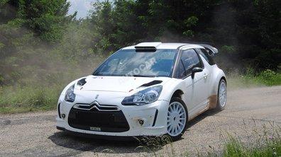 Citroën DS3 WRC : la future voiture de Loeb en test