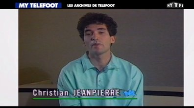 Les archives de Téléfoot : Christian Jeanpierre dans les années 80 !