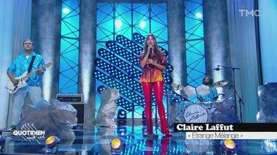 """Claire Laffut : """"Etrange mélange"""" en live pour Quotidien"""