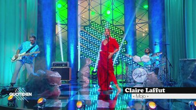 """Claire Laffut : """"Mojo"""" en live pour Quotidien (exclu web)"""