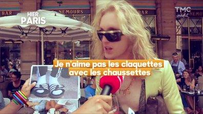 La fashion hotline de Marc Beaugé : claquettes-chaussette, le phénomène