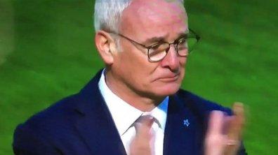Premier League : touché et touchant, Claudio Ranieri évoque son «rêve mort»