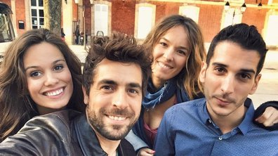 Agustin Galiana, Lucie Lucas, Elodie Fontan... Ça bosse dur sur le tournage de Clem !