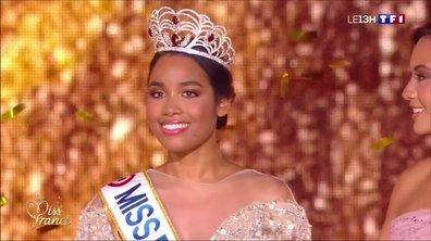 Clémence Botino commente son année de Miss France