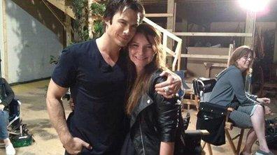 NT1 envoie une fan de Vampire Diaries sur le tournage de la saison 6 à Atlanta