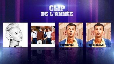 NRJ Music Awards - Clip de l'année : Stromae face à Miley Cyrus et One Direction