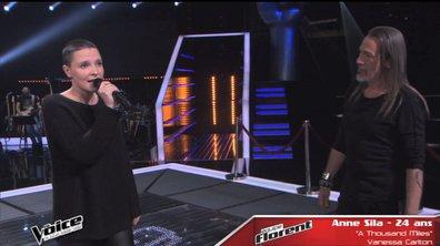 The Voice 4 - Vidéo : Dernière répétition pour Anne Sila avant la finalee