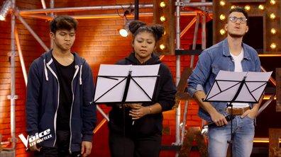 The Voice 2020 - Coaching éprouvant pour Jonathan, Nathan et Ludy Soa
