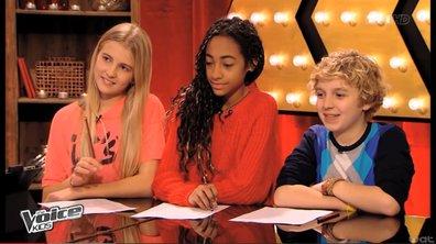 The Voice Kids - Exclusivité : Quand Garou coache Maylane, Laetitia et Benjamin