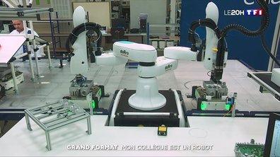 Cobots : quand les robots viennent au secours des ouvriers