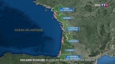 Cocaïne échouée : plusieurs plages de la côte atlantique interdites d'accès