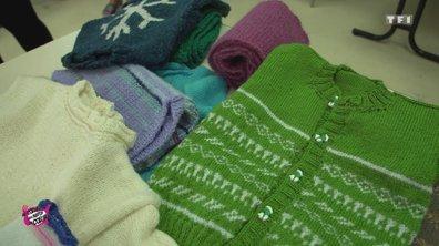 Au coeur des Restos du Coeur du 19 décembre 2018 - Mamies tricots Ambérieu-en-Bugey